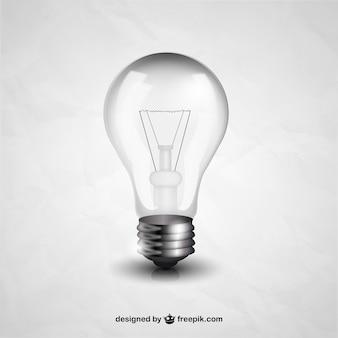 Realistic lâmpada