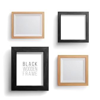 Realistic photo frame