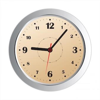 Realistick ícone de relógio