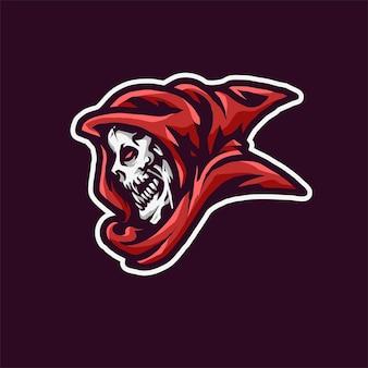 Reaper sport logo illustration
