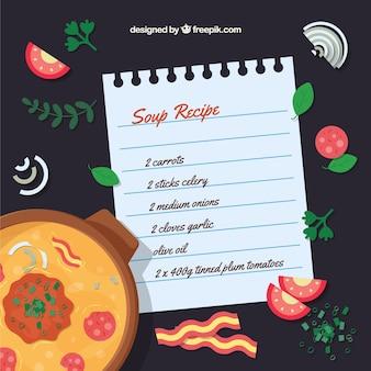 Receita da sopa