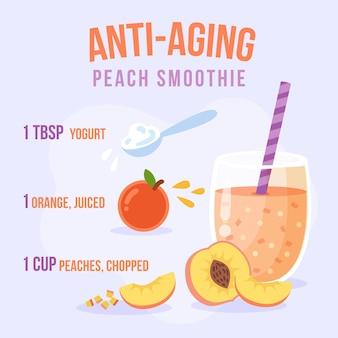 Receita de smoothie anti-envelhecimento