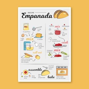 Receita empanada