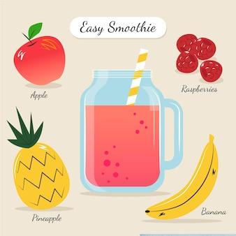 Receita para smoothie saudável