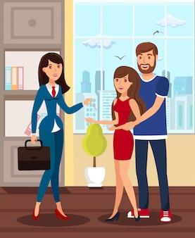 Recém-casados alugando apartamento apartamento