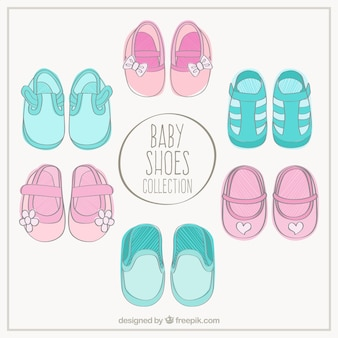 Recém-nascido shoes