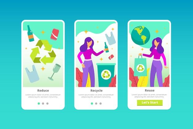 Reciclar design de tela do aplicativo integrado