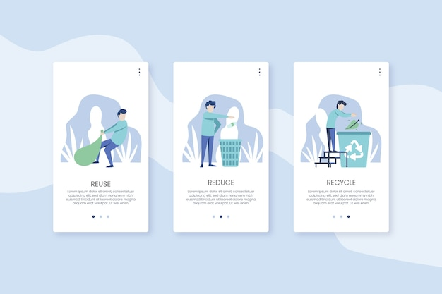Reciclar telas de aplicativos integradas com o telefone