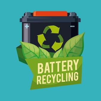 Recicle o design da bateria.
