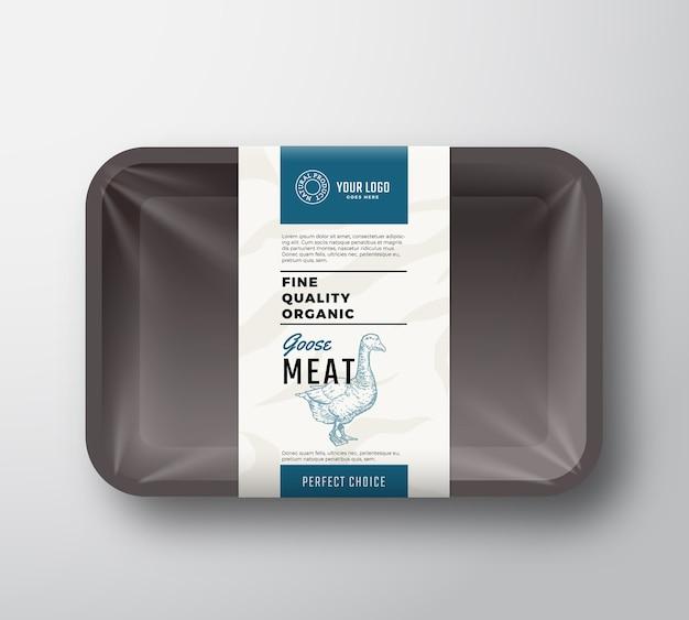 Recipiente de carne de alta qualidade