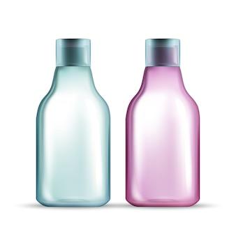 Recipiente de líquido para cosmético de água micelar