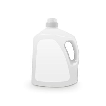 Recipiente de plástico para detergente