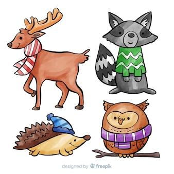 Recolha de animais de inverno