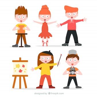 Recolha de crianças talentosas
