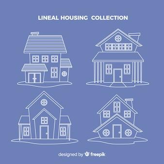 Recolha de habitação linear