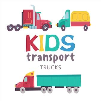 Recolha transporte infantil
