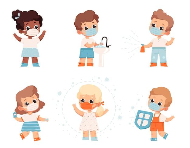 Recomendações para proteger as crianças do coronavírus