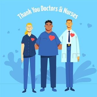 Reconhecimento de profissionais médicos