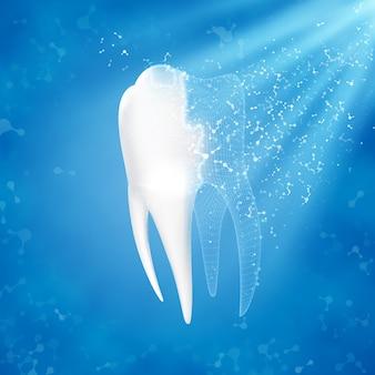Reconstrução dentária.