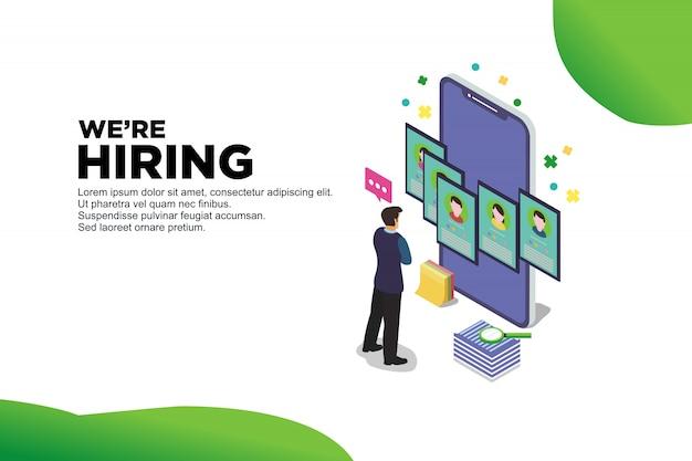 Recursos de recrutamento na web