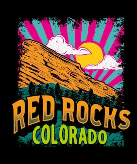 Red rock colorado