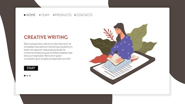 Redação de conteúdo de marketing e ideias de direitos autorais