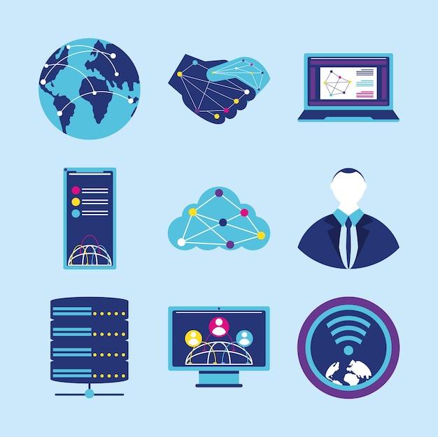 Rede de conexão de dados