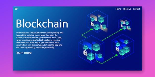 Rede de criptografia blockchain
