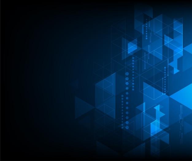 Rede de firewall fundo abstrato