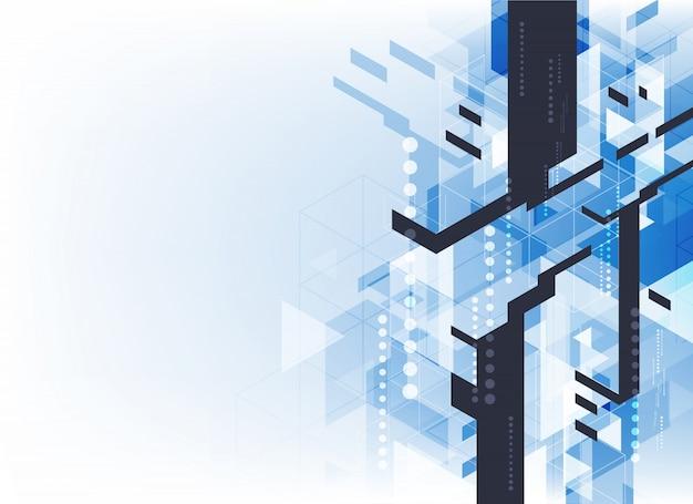 Rede de firewall vetorial resumo de fundo