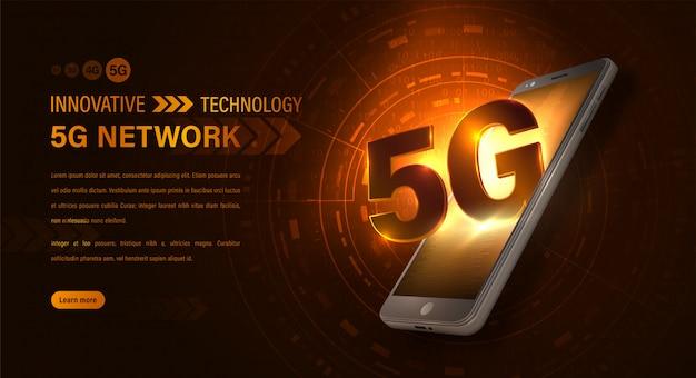 Rede de internet 5g