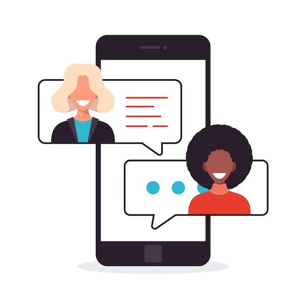 Rede de mensagens de mídia social