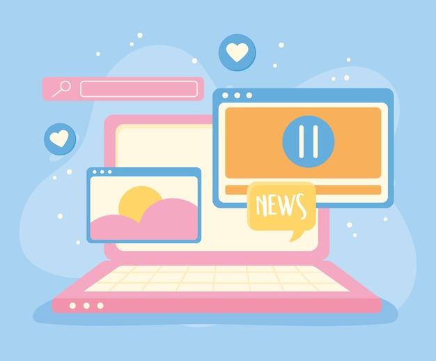Rede de mídia social digital