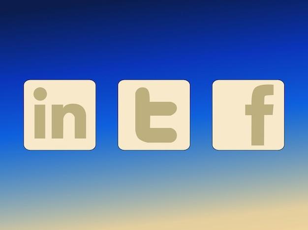 Rede de profissionais logos sociais