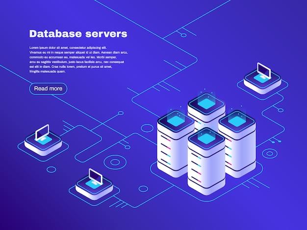 Rede de servidores de datacenter digital