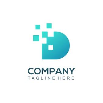 Rede de tecnologia de logotipo