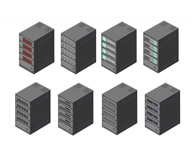 Rede do servidor de dados