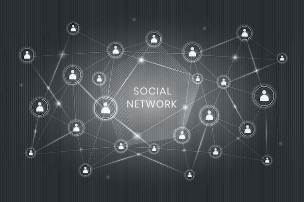 Rede social descentralizada
