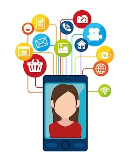 Rede social e mídia
