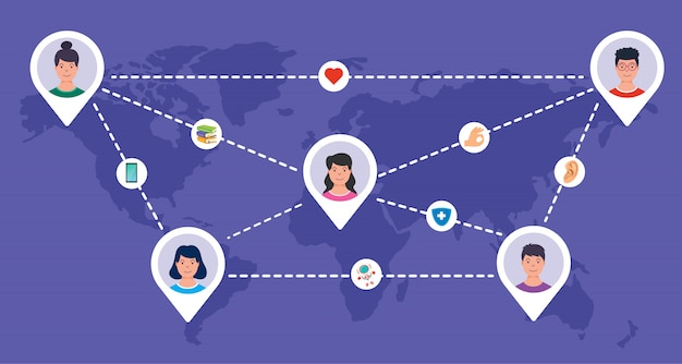 Redes sociais e conexão entre pessoas