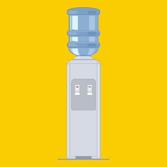 Refrigerador de água portátil. equipamento de escritório.