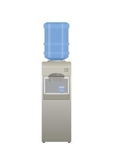 Refrigerador para beber ícone. equipamento de trabalho de escritório.