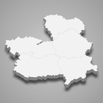 Região 3d da espanha