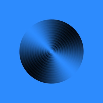 Registro de música de vinil. disco de gramofone vintage. ilustração vetorial.