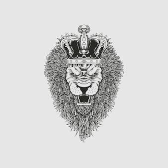 Rei leão linha artística