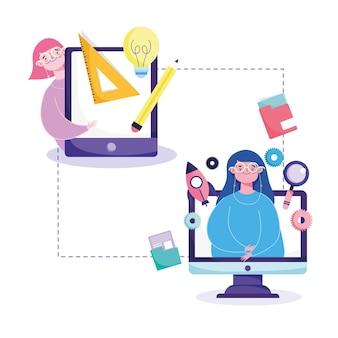 Relacionado à educação online