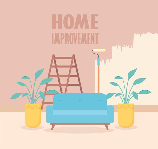Relacionado com a reforma da casa