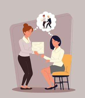 Relacionado com assédio no local de trabalho