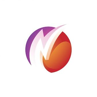 Relâmpago flash e logotipo da esfera