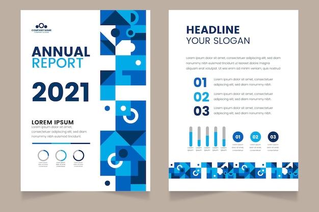 Relatório anual abstrato